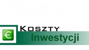 Koszty inwestycji